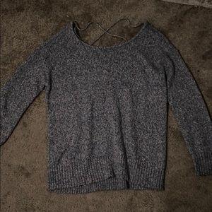 American Eagle Cross Back Sweater